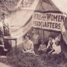 Women's Political Union Headquarters, Dunkirk, NY, 1914
