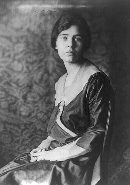 Alice Paul in 1918