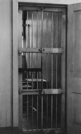Cell at Occoquan Workhouse (Library of Congress photo)